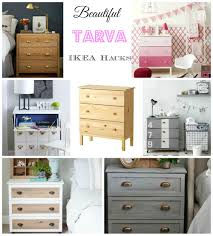Ikea Diy by Ikea Hacks Tarva Drawers Diy Decorator