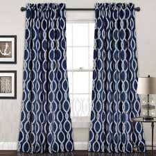 buy navy blue curtain panels from bed bath u0026 beyond