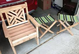 diy wood patio chairs