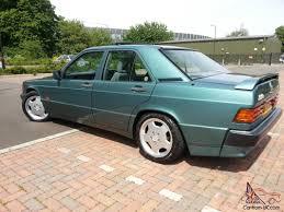 mercedes 190e 2 6 auto green