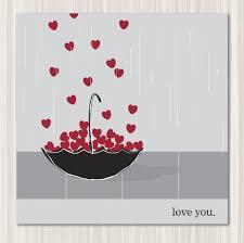 printable card i you catching raining