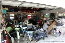 How To Organize Garage - how to organize a garage creating zones hoosier homemade
