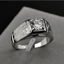 rings for men in pakistan montblanc white gold and diamond men s ring white gold diamond