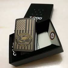 American Flag Zippo Limited Edition Uss Ronald Reagan Cvn 76 Us Navy Zippo Lighter