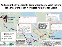 Portland Maine Zoning Map by Tar Sands Oil Could Be Coming Soon To New England Grist