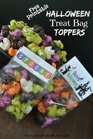 halloween goody bags halloween treat bag toppers archives easy peasy pleasy