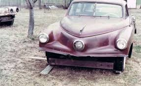 Vintage Cars Found In Barn In Portugal A 3 Million Tucker 48 Prototype Once Was Discovered Stuck In Mud