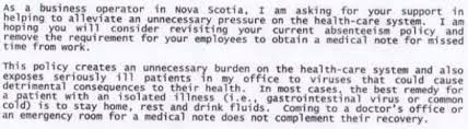 doctor rejects an employer u0027s sick note request with an epic