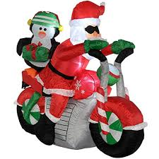 Cheap Inflatable Christmas Decorations Uk by Werchristmas 150 Cm Large Pre Lit