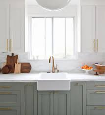 Two Tone Painted Kitchen Cabinet Ideas Cabinet Enchanting Two Tone Kitchen Cabinets For Home Pictures Of