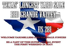 World S Longest Yard Sale Map by 2nd Annual Texas Longest Yard Sale Brownsville Convention