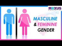 masculine and feminine gender youtube