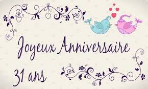 anniversaire de mariage 30 ans mariage 31 ans mariage