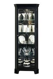 lighted curio cabinet oak corner lighted curio cabinet southern enterprises mahogany oak black