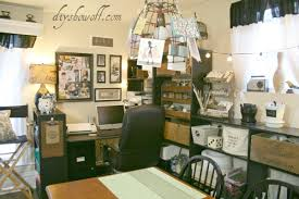 Craft Room Office - vintage inspired craft room home office hometalk