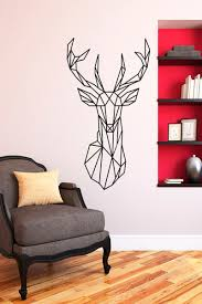 Decoration Geometric Wall Decals Home by