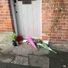 floral tributes outside george michael u0027s oxfordshire home heart