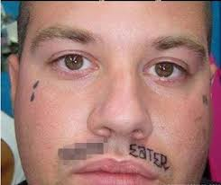 rogue u0027s gallery of terrible face tattoos that will guarantee a