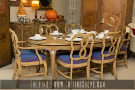 vintage six piece french provincial dining set the find shops