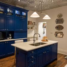 houzz blue kitchen cabinets cobalt blue kitchen ideas houzz