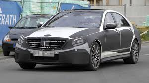 mercedes s63 2013 2013 mercedes s63 amg spied with less disguise