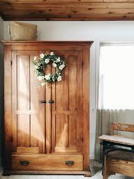 Wood Armoire Wardrobe Best 25 Antique Wardrobe Ideas On Pinterest Eclectic Armoires