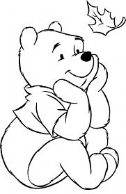 winnie the pooh thanksgiving coloring pages just colorings