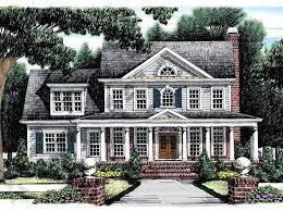 colonial home plans and floor plans 41 best mid sized house plans images on houses
