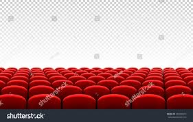 movie theater seats for home rows red cinema movie theater seats stock vector 549090013