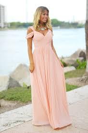 blush maxi dress blush shoulder maxi dress maxi dresses shoulder and gowns