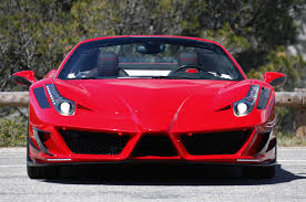 fake ferrari body kit mansory enzos up the ferrari 458 spider w video