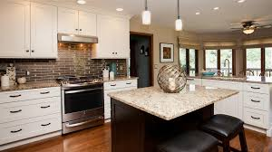 kitchen white ice granite countertops double kitchen island white in