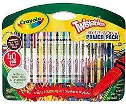 crayola twistables sketch and draw power pack 40 piece set ebay