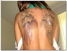 angel wings tattoos on back for tattooshunter com