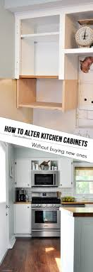 how to update kitchen cabinets without replacing them how to alter kitchen cabinets cherished bliss
