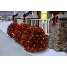 led christmas lights clearance walmart holiday time christmas net light set red bulb 150 count walmart com