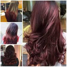 brown cherry hair color black cherry hair color ideas for females stylish strands