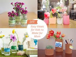Diy Vases 5 Kid Crafted Vases For Mother U0027s Day