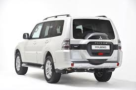 mitsubishi pajero 2016 white subtle tweaks for pajero