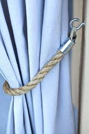 Curtain Rope Tie Backs Curtain Tie Backs Ideas Patio Curtains Rope Tieback Curtain