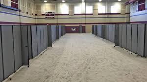 temporary room dividers versare room dividers create temporary classrooms for la flood
