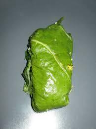 cuisiner les feuilles de chou fleur feuilles de blettes farcies au bouglhour de sarrasin et pruneaux