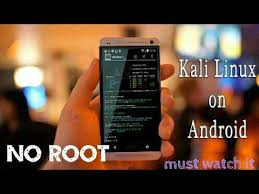 how to on android phone without the phone install kali linux on android phone without root