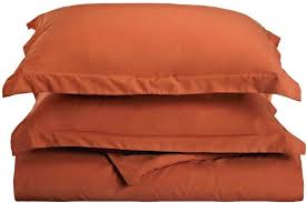 amazon com duvet cover full queen orange rust home u0026 kitchen