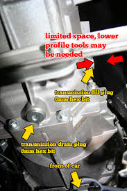 diy manual transmission and diff fluid change