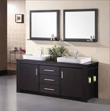 60 double sink bathroom vanity classic satin nickel faucet brown