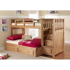 Build Loft Bed With Stairs by Best 25 Bunk Beds With Stairs Ideas On Pinterest Bunk Beds With