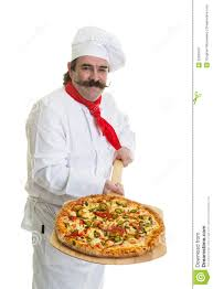 chef pizza italian pizza chef stock image image of cook bakery 52029167