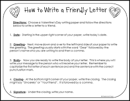 writing a friendly letter template friendly letter templates 42