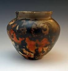 Pit Fired Pottery by Pitfire Raku Saggar Wood And Pit Fired Pottery Good Info